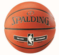 Spalding Basketbal NBA Silver Outdoor New